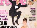 Britney Spears crashes Justin Timberlake's wedding photo