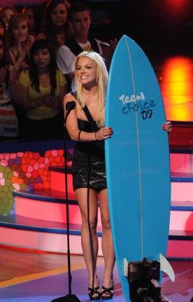 2009 Teen Choice rocks