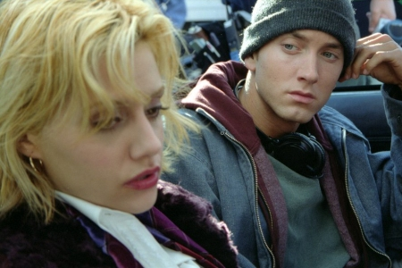 Brittany Murphy and Eminem in Curtis Hansen's 8 Mile