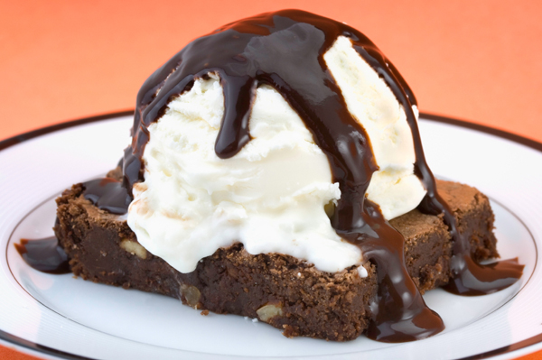 Brownie with Esspresso Fudge