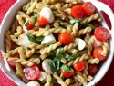 Bruschetta pasta salad