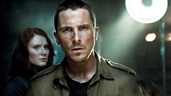 Christian Bale is John Connor as Bryce Dallas Howard portrays his wife in Terminator: Salvation