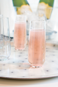 Bubbly Coconut Cocktail 