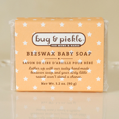 Beeswax Baby Soap