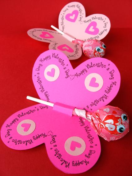 These make great favors and a different kind of Valentine's Day card that