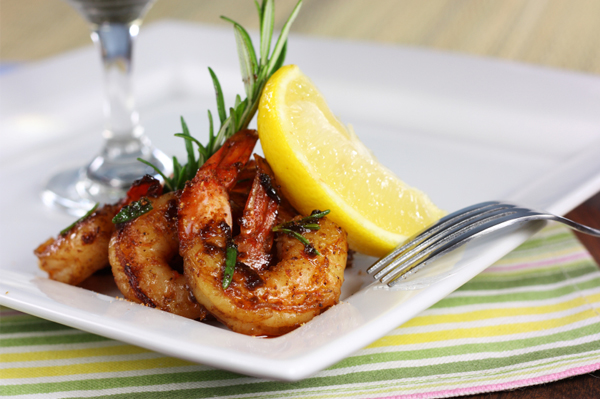 Spicy Cajun Valentine's Day recipes. Set the table with a few romantic
