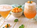 Boozy cantaloupe slushies, because you're a grown-up and you can