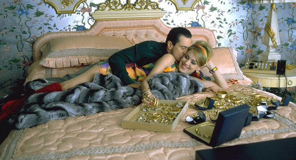Does DeNiro hit the jackpot with Sharon Stone in Casino? Hardly