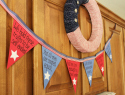 Celebrate July 4th with this Declaration of Independence bunting