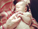 Channing Tatum shows off baby Everly on Father's Day