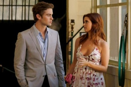 Chase Crawford's got a crush on Gossip Girl