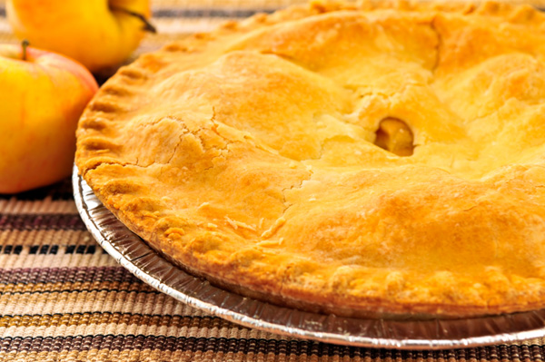 Cheddar-Crust Apple Pie
