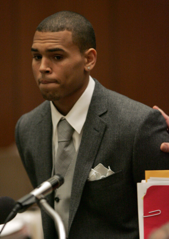 Chris Brown has his day in court