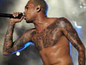 Chris Brown reveals his scary new tattoo