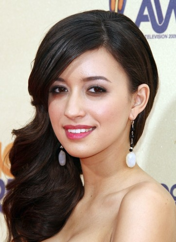 Twilight star Christian Serratos visits with SheKnows
