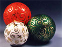 Celestial Balls Christmas Ornament