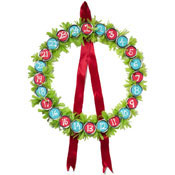 christmas wreath countdown