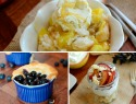 3 Summery fruit cobbler recipes