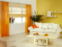Color-blocked home accessories