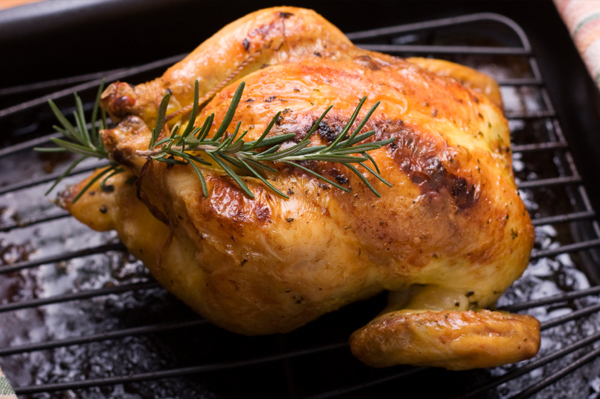 Roasted Maple-Glazed Cornish Game Hens