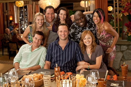 Couples Retreat has every reason to smile: they're number one