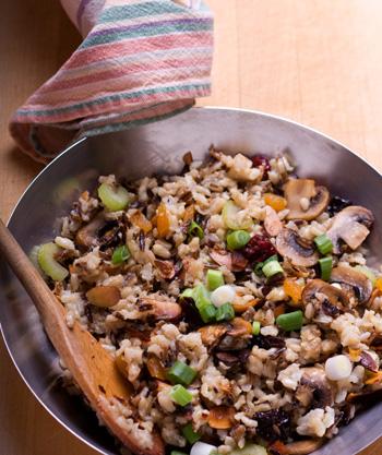 Cranberry-Rice Stuffing