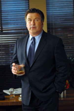 Alec's got problems on '30 Rock' and hits the bottle