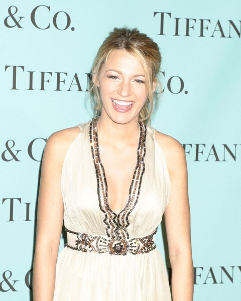 Blake Lively. Blake looking fab at Tiffany and Company's launch of its 2008