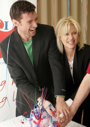 Hugh and his wife get great joy from aiding the effort