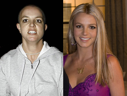 Wether bald or beautiful, Britney has at least kept us guessing!