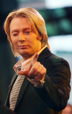 Clay Aiken has confirmed to the world what many suspected