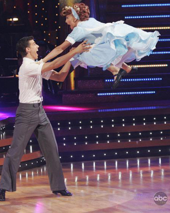Going high on Dancing with the Stars