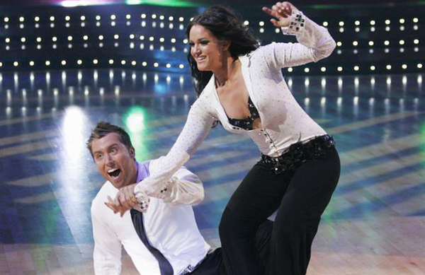 Lancing is falling down for DWTS