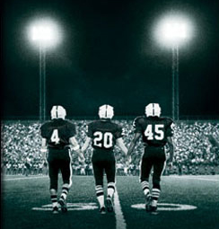 One of two football high school movies on the list