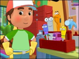 Wilmer is Handy Manny!