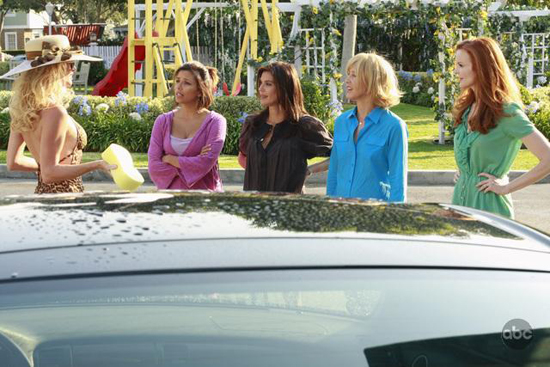 Five years in the future, Wysteria Lane is a tad different
