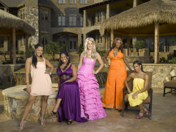 Desperate...hardly! The Housewives of Atlanta get going