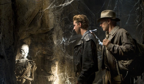 The skull in question in Indiana Jones and the Kingdom of the Crystal Skull