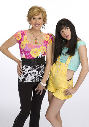 Molly and Selma are mother and daughter on Kath and Kim