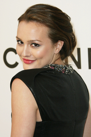 Leighton at a recent Chanel event