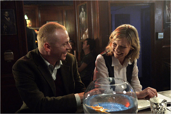 Simon Pegg and Kirstin Dunst hope for movie magic