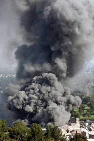 Universal Studios burns, yet the awards continue