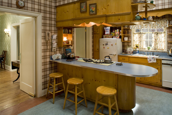 Imagine cooking in this kitchen today?!