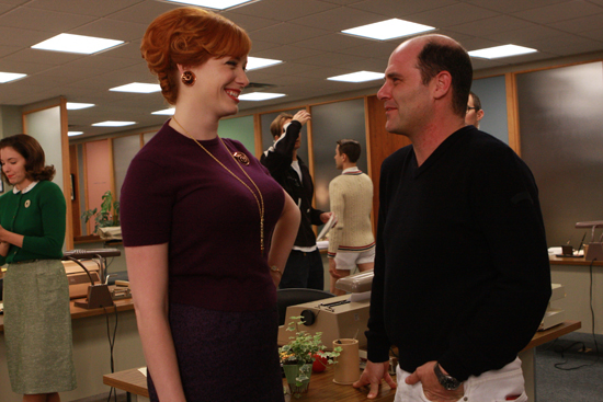 SheKnows, live on the set of Mad Men