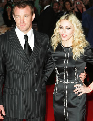 The couple at the RocknRolla premiere