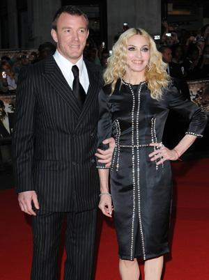 Madonna divorced!