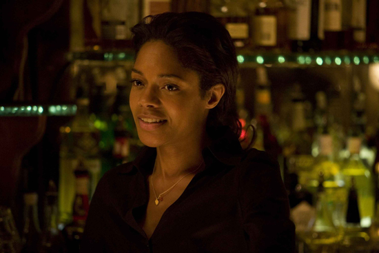 Radiating the screen in 'August,' Naomie Harris