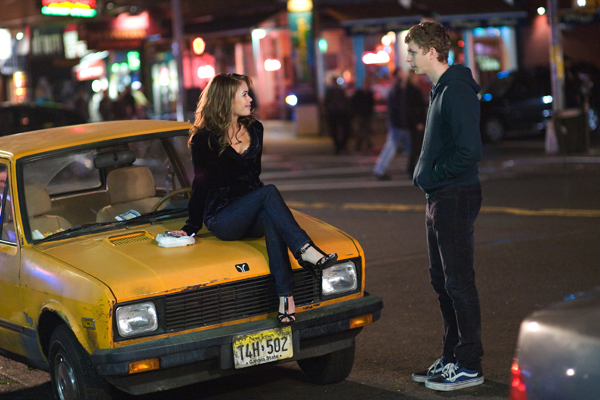 Michael Cera does not drive a taxi!