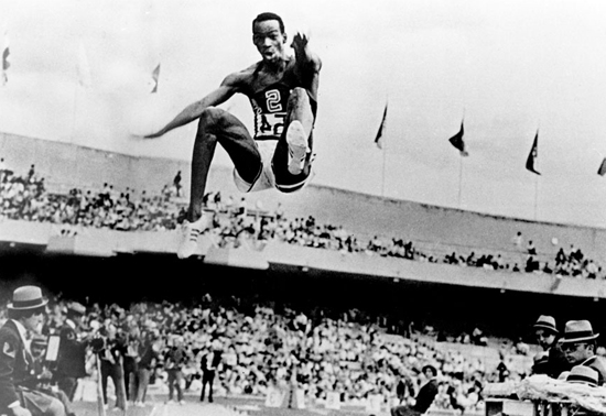 No one jumped higher than Bob Beamon