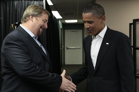 Hey, nice to meet you, Mr. President?